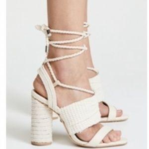 SCHUTZ Lenice Strappy Sandals 7B